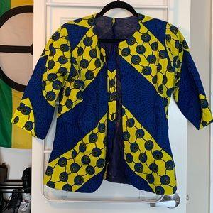 Ankara Fabric Jacket